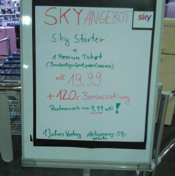 Sky Angebot