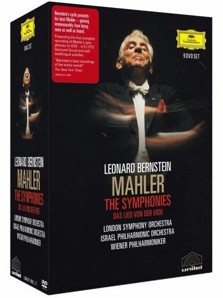 [Amazon.it] Leonard Bernstein: Mahlers Sinfonien - 9 DVDs / 803 Min. [dt. Version] für 22,76€