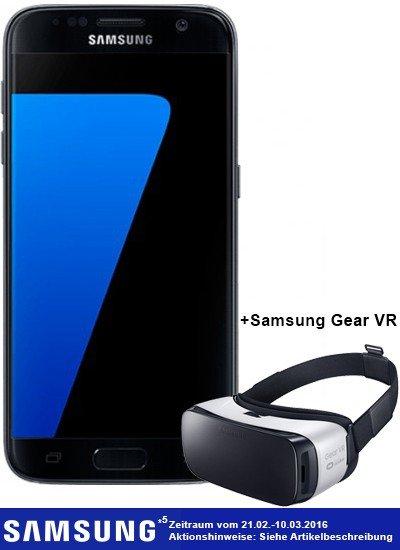 Samsung Galaxy S7 32 GB schwarz mit Vertrag Otelo Allnet Flat XL für 29,99€ monatlich + 139€ einmalige Zuzahlung