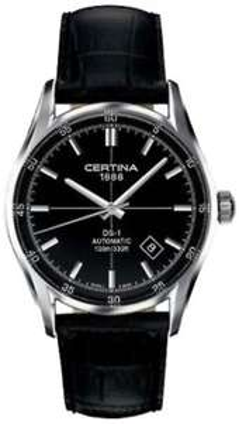 AMAZON@ Certina DS-1 Herren-Armbanduhr XL Analog Automatik Leder C006.407.16.051.00
