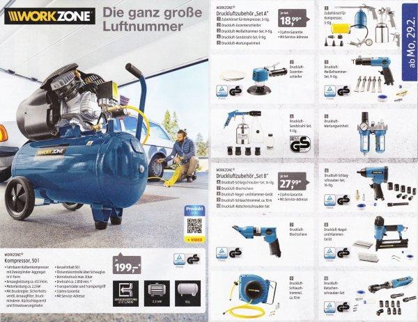 [ALDI SÜD] Kompressor 199€ oder Zubehör ab 18,99€ *TOP* ab. Montag 29.02 (+Autozubehör)