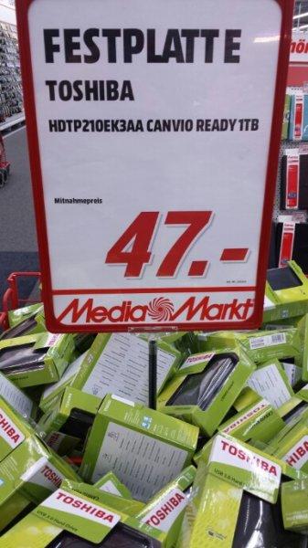 [SW, Mediamarkt] Toshiba Canvio Ready 1TB, 2.5