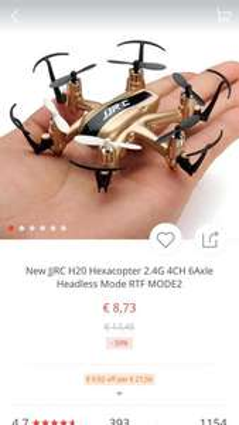 [Beendet] Hexacopter JJRC H20 für 8,73 (kostenloser Versand) bei Aliexpress