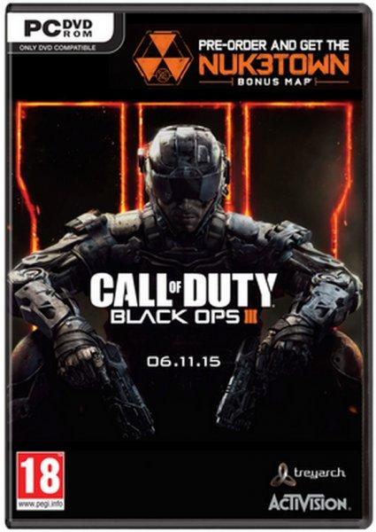 @cdkeys.com Call of Duty: Black Ops III 3 + Nuketown DLC (PC STEAM CODE)