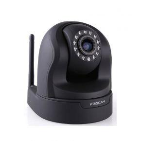 FOSCAM FI9826W, dreh- und schwenkbare HD Überwachungskamera, schwarz