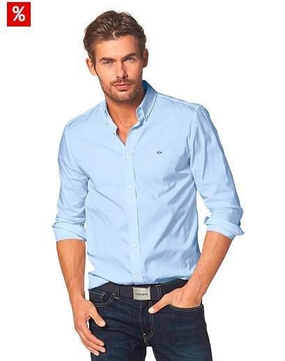 """[Otto] Neukundengutschein heute auf 20€ erhöht, damit Lacoste Slim Fit Hemd im """"Deal des Tages"""" für 29,99€ statt 60€"""