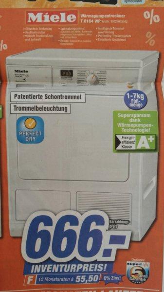 [Lokal Oberfranken] Miele T8164WP Wärmepumpentrockner bei Expert für 666 €, PVG 745 €