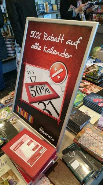 [Lokal Trier?] Interbook - 50% auf alle Kalender und Planer inkl. Moleskin und Leuchtturm
