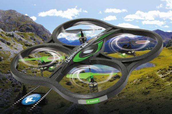 [LOKAL Mediamarkt Schweinfurt] Jamara - Observer AHP Quadrocopter für 88 EUR
