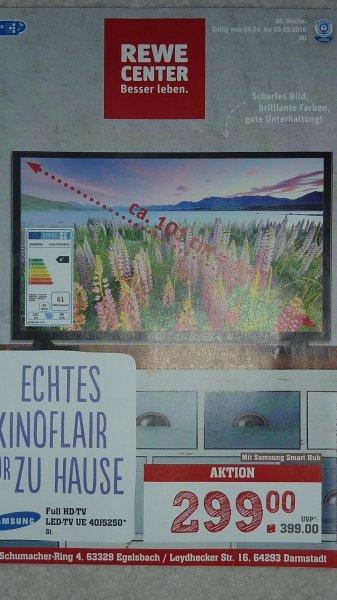 Samsung UE40J5250 FULL HD LED TV, 299€ im Rewe Center 63329 Egelsbach  & 64293 Darmstadt