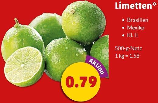 [Penny] 500g Limetten für 79 Cent