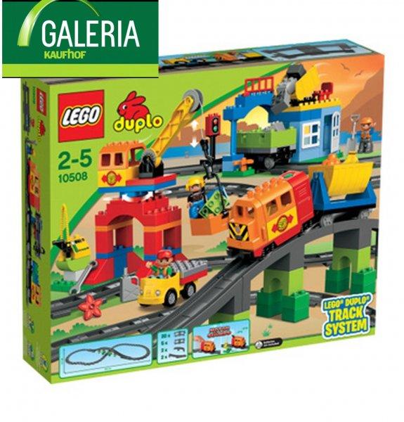 [Galeria Kaufhof] 20% auf Lego Duplo Artikel z.B. Duplo Eisenbahn Super-Set 10508 79,99€ plus qipu oder Payback