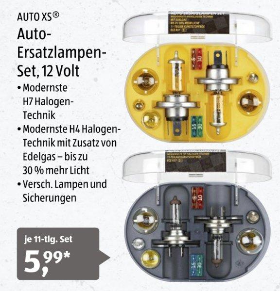 [Aldi Süd] KFZ Ersatzlampen 11-tlg. Set, 5,99€