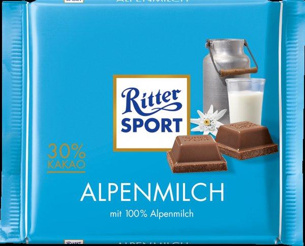 Ritter Sport Schokolade 100g Tafel für 0,62 EUR bei Rossmann