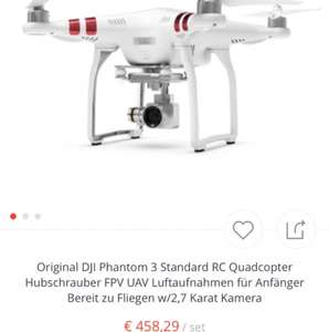 DJI Phantom 3 Standard RTF Set