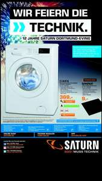 [SATURN Dortmund-Eving]AEG L68480FL, 8 kg Waschmaschine, Frontlader, A+++, 1400 U/Min, Weiß