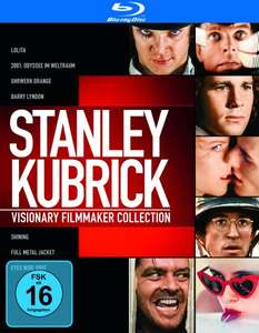 [Amazon Prime] Stanley Kubrick Collection [7 Blu-ray Filme] für 16,97€ inkl. Versand