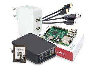 Raspberry Pi 3 Modell B Starter Kit [64,90€ @pollin.de]