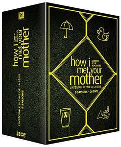 How I Met Your Mother - Staffeln 1-9 (OT, DVD) für EUR 39,00 [Amazon.fr]