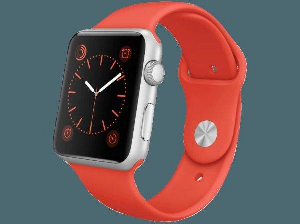 Apple Watch Sport, 42 mm, 379,00 bei Saturn online, Idealo 435,00