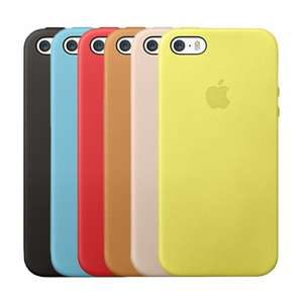 Original Apple iPhone 5s Leder Case 7,99€ (gelb) / 15,99 (alle anderen)