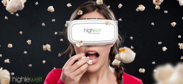"""33% RABATT - Virtual Reality Brille """"highset"""" 39,90 EUR inkl. Versand statt 59,90"""