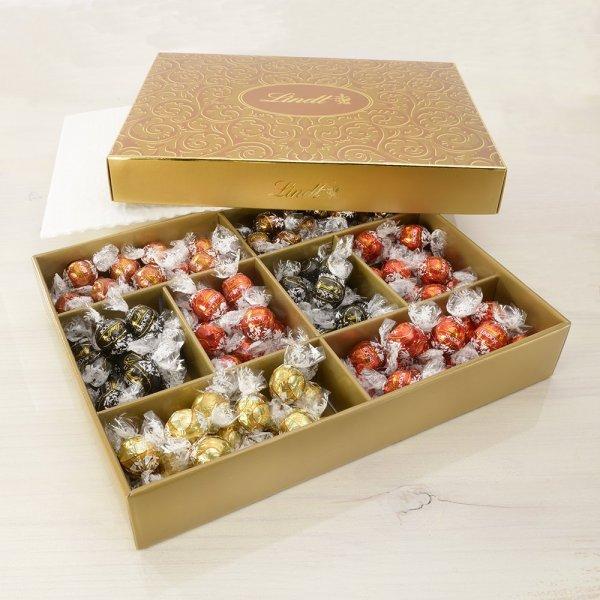 Amazon Lindt & Sprüngli Lindor Naschbox, 1er Pack (1 x 1.5 kg) - Nur 24,99 €