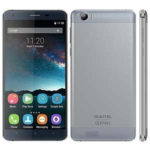 "OUKITEL K6000 (LTE, riesiger 6000mAh Akku mit Schnellladefunktion, Quadcore, 5.5"" HD Display, 16GB, 2GB Ram)"