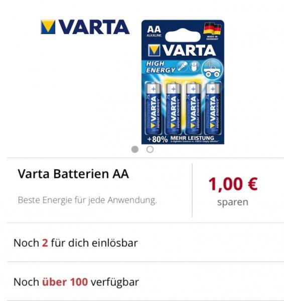 [Scondoo] Varta AA Batterien High Energy (Freebies möglich?)