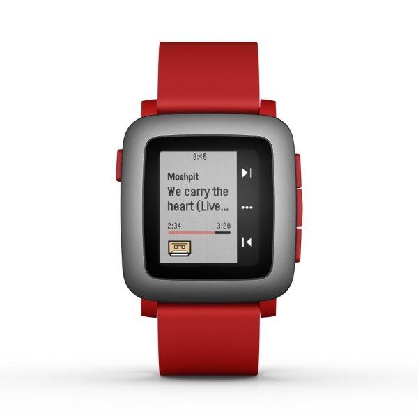 Pebble Time Smartwatch rot  inkl. für ca. 131 € > [amazon.uk]