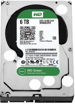 "Western Digital Green 6 TB 3,5"" - Festplatte - Euro 191,90 € versandkostenfrei"