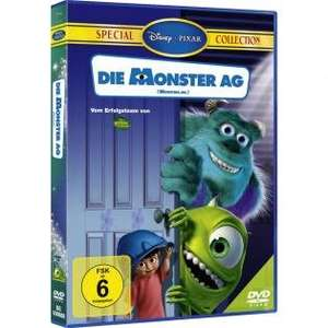 Die Monster AG (DVD Special Collection) für 2,78€ bei Redcoon.de