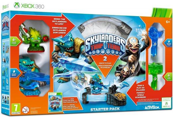 Skylanders Trap Team: Starter Pack XBOX 360 extrem reduziert [AKTION bis morgen] 25,50 Euro