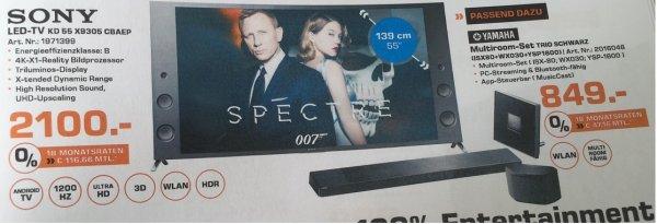 Sony KD 55 X 9305CBAEP - Saturn Göttingen (lokal) - VK: 2100,-