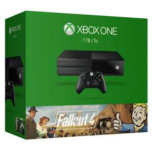Xbox One 1TB + Fallout 4 + Fallout 3 + Rise of the Tomb Raider für 345,81€ bei Amazon.fr