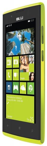 """[Amazon] Wieder da: BLU Win JR LTE 4,5""""-Smartphone gelb für 57,65 € / nächster Preis 79,99 € (ebay)"""