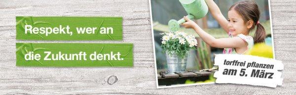 Toom Baumarkt - Große Pflanzaktion für Kinder am 05. März von 10 – 16 Uhr im Markt