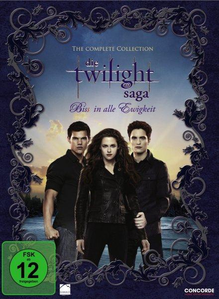 Die Twilight-Saga in der Komplettbox ab 10,99€ inkl VSK @Redcoon