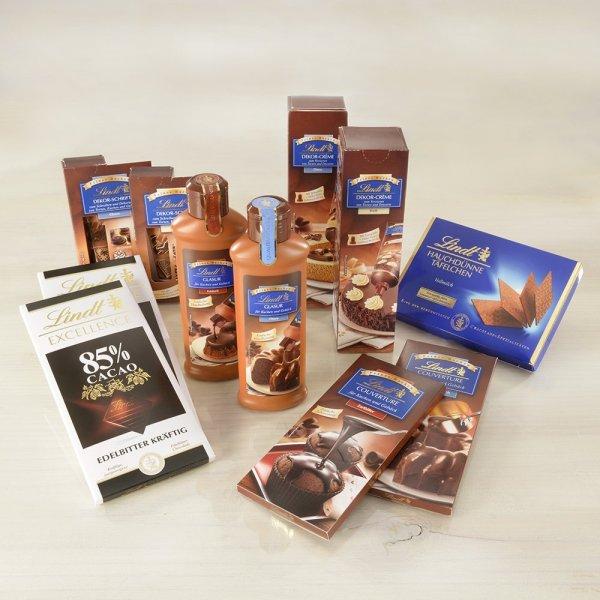 Amazon Prime : Lindt & Sprüngli Präsentbox Feines Backen, 1er Pack (1 x 1.160 kg) -  Nur 12,75 €