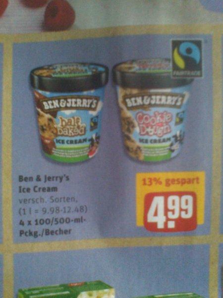 Rewe Ben & Jerry's 4,99€