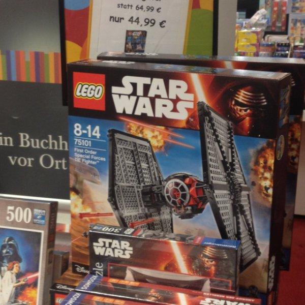 Lokal Köln/Bochum: Lego 75101 First Order TIE Fighter (Mayersche Neumarkt) 44,99 (Samstag evtl. 36 €)