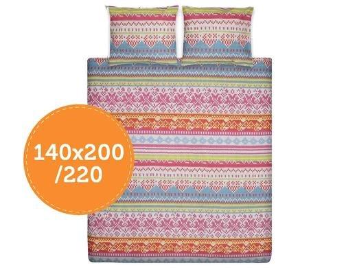 Ten Cate Embroidery Bettwäsche Multicolor 140x200/220 inkl. Kissenbezug aus 100 % Perkal-Baumwolle für 22,95€ zzgl. 5,95€ @iBOOD