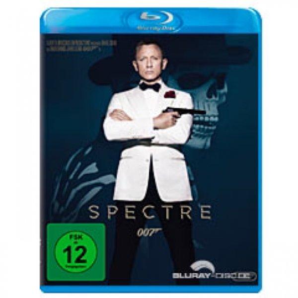 (Saturn Bremen Duckwitzstr.) Spectre Blu-Ray 9,99€, DVD 7,99