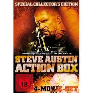 Steve Austin Action Box (4 DVDs) für 3,22€ bei Redcoon.de