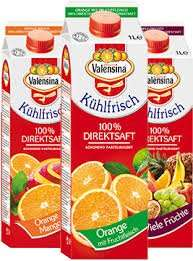 Valensina Kühlfrisch 1 Literfür 1.79€ verschiedene sorten bei rewe
