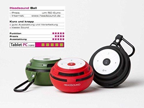 HEADSOUND Tube und Ball für je 20,80€ @ Billigarena - 2 Bluetooth Lautsprecher