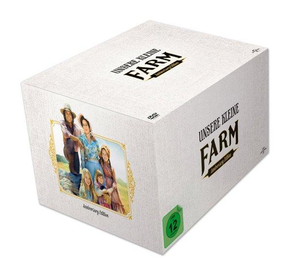 [Media-Dealer] Unsere kleine Farm - Die komplette Serie (Staffel 1-10) Anniversary Edition (9708 Minuten auf 58 DVDs) für 58,99€
