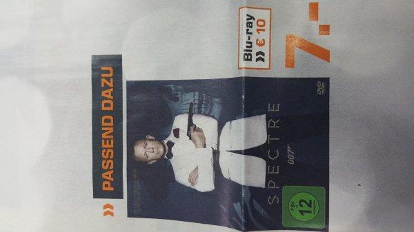 James Bond Spectre Blu-ray 10€ Saturn Schweinfurt