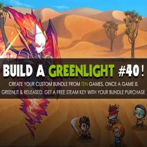 [STEAM?] Build a Greenlight Bundle 40 @ Groupees
