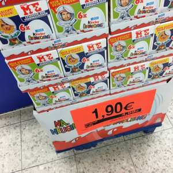 Bei Toys r Us Hamburg eidelstedt 6 ü Eier nur 1,90€